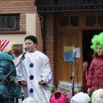 Выступление учеников воскресной школы