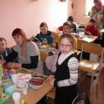 Уроки писанкарства в Александро-Невском храме г. Харьков