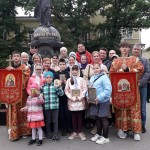 Участники Крестного хода 2021 г.